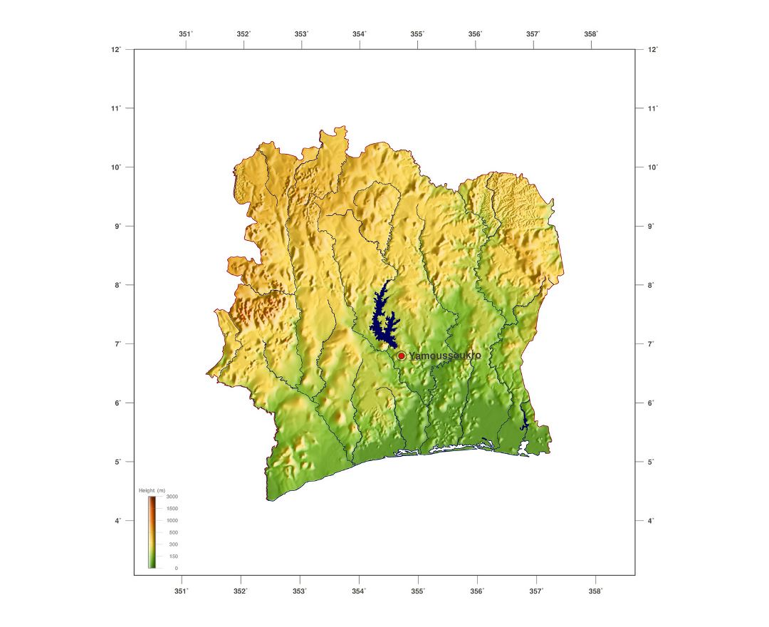 Picture of: Maps Of Cote D Ivoire Collection Of Maps Of Cote D Ivoire Africa Mapsland Maps Of The World