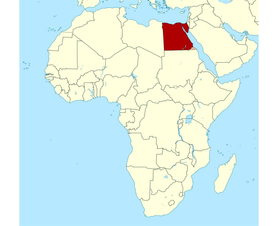 Maps Of Egypt Detailed Map Of Egypt In English Tourist Map - Map of egypt libya