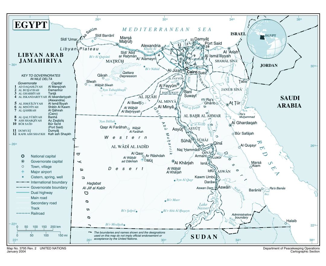 Maps Of Egypt Detailed Map Of Egypt In English Tourist Map - Map of egypt with cities