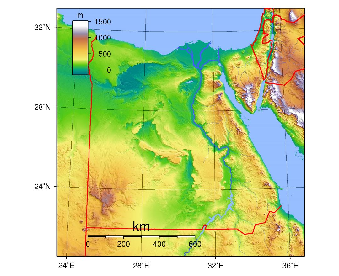 Image of: Maps Of Egypt Collection Of Maps Of Egypt Africa Mapsland Maps Of The World