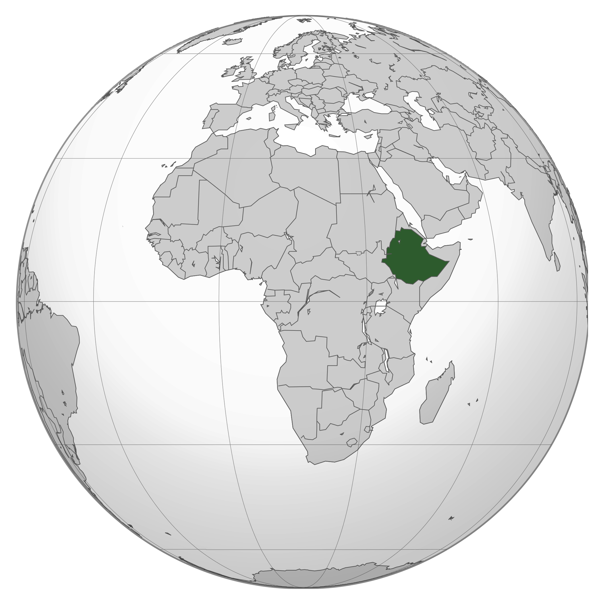 Large location map of ethiopia in africa ethiopia africa large location map of ethiopia in africa gumiabroncs Image collections