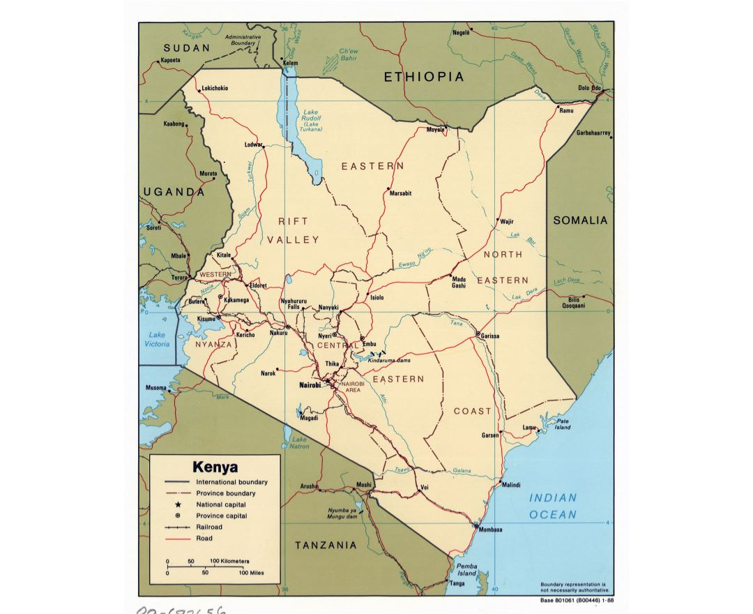 Image of: Maps Of Kenya Collection Of Maps Of Kenya Africa Mapsland Maps Of The World