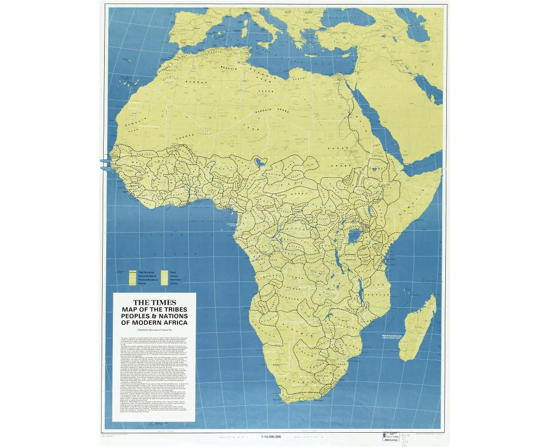 Maps of Africa and African countries | Political maps, Road and ...