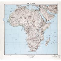 Map Of Africa With Countries And Capitals.Large Scale Detailed Political Map Of Africa With Marks Of Capitals