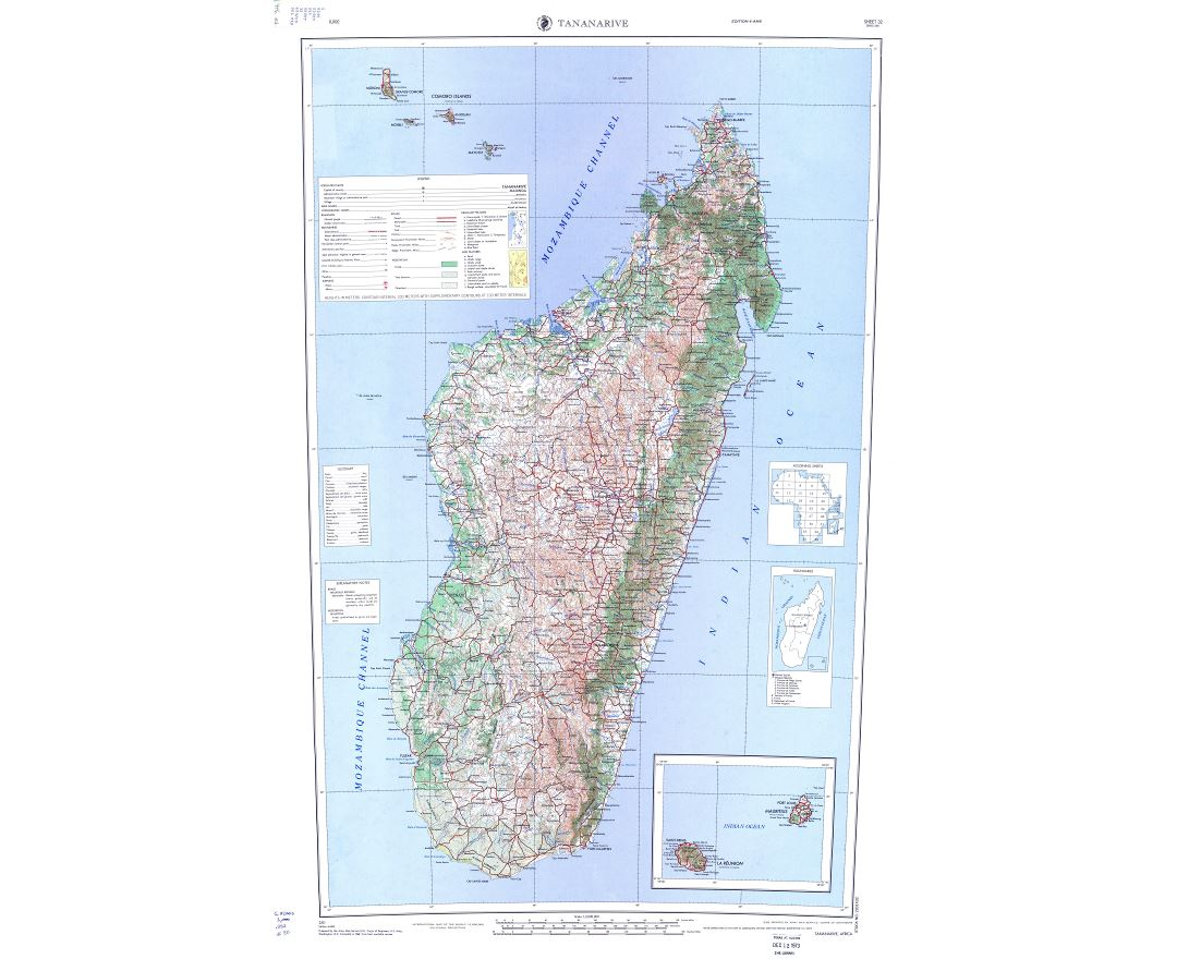 Maps Of Madagascar Collection Of Maps Of Madagascar Africa
