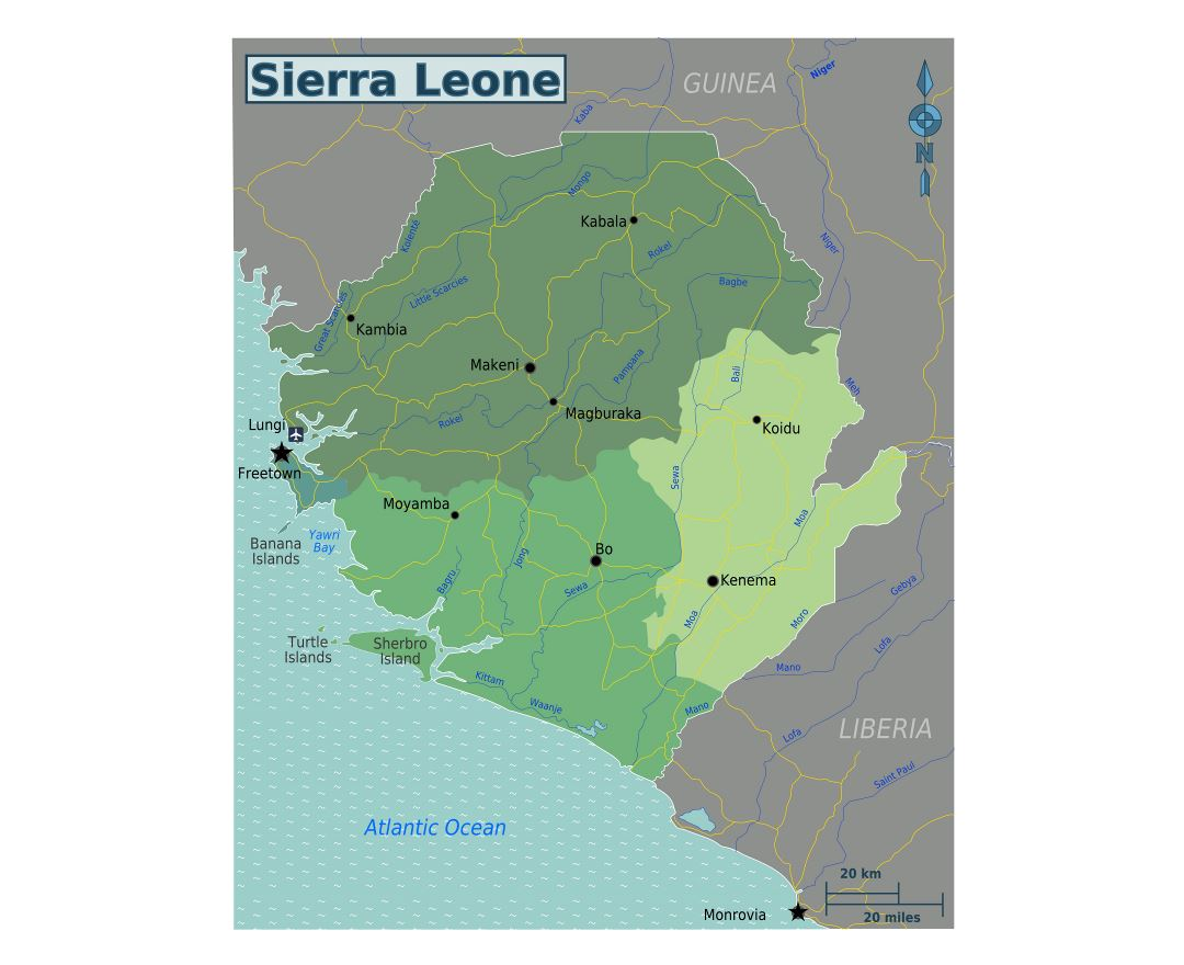 an analysis of physical regions in sierra leone Chapter xv armed conflict  terror and physical abuse in sierra leone,  particularly in countries and regions afflicted by civil wars.