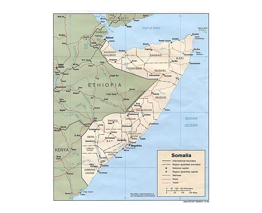 Maps Of Somalia Collection Of Maps Of Somalia Africa Mapsland
