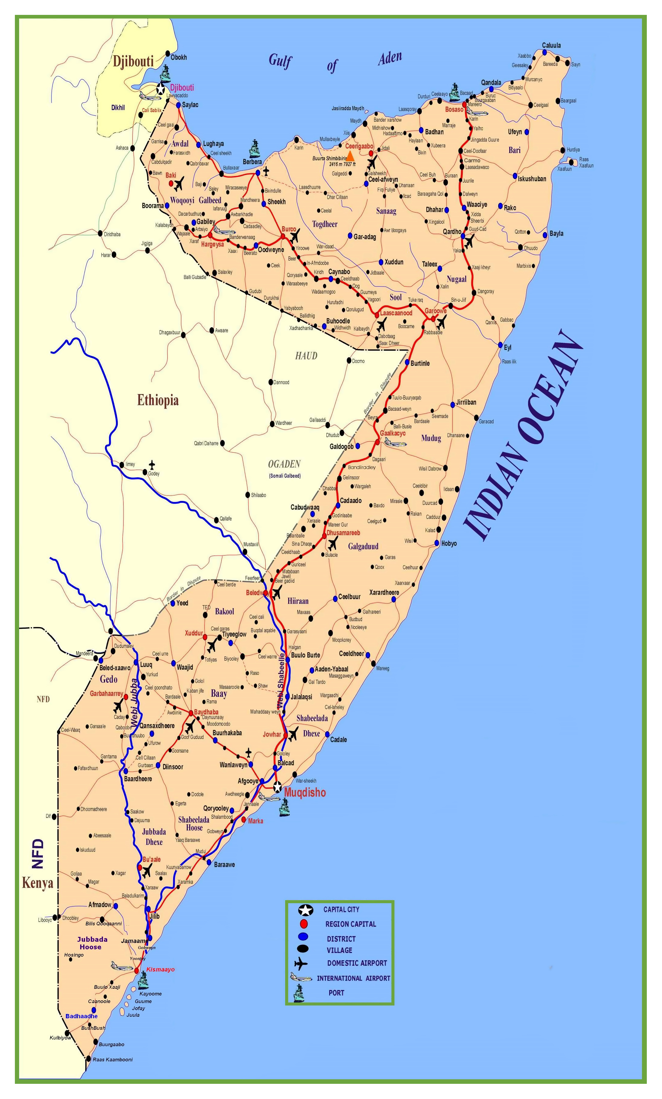 Large detailed map of Somalia with roads, cities, villages ... on map of senegal africa, map of rwanda africa, map of morocco africa, map of somaliland africa, map of tanzania africa, map of africa with countries, map of gabon africa, map of madagascar africa, map of zimbabwe africa, map of kenya africa, map of ghana africa, map of nigeria africa, map of south sudan africa, map of mauritius africa, physical map of africa, map of eritrea africa, map of mali africa, map of ethiopia africa, mogadishu africa, map of central african republic africa,