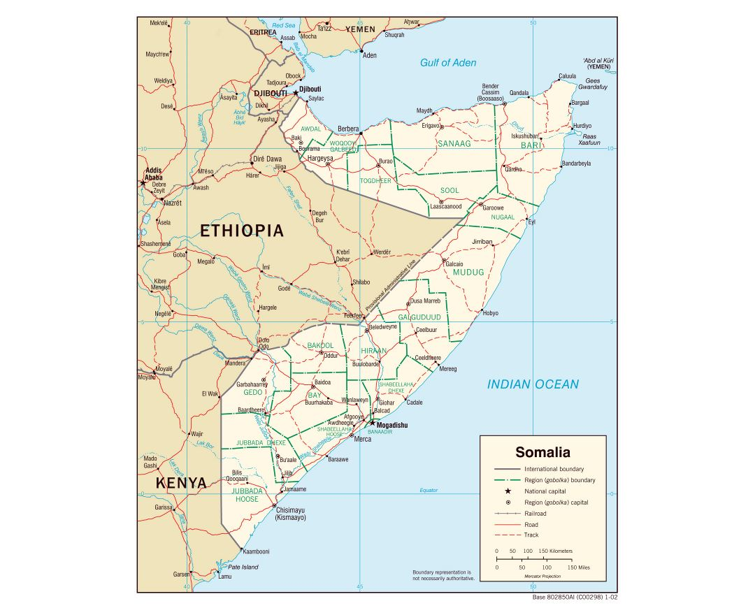 Maps Of Somalia Collection Of Maps Of Somalia Africa Mapsland Maps Of The World