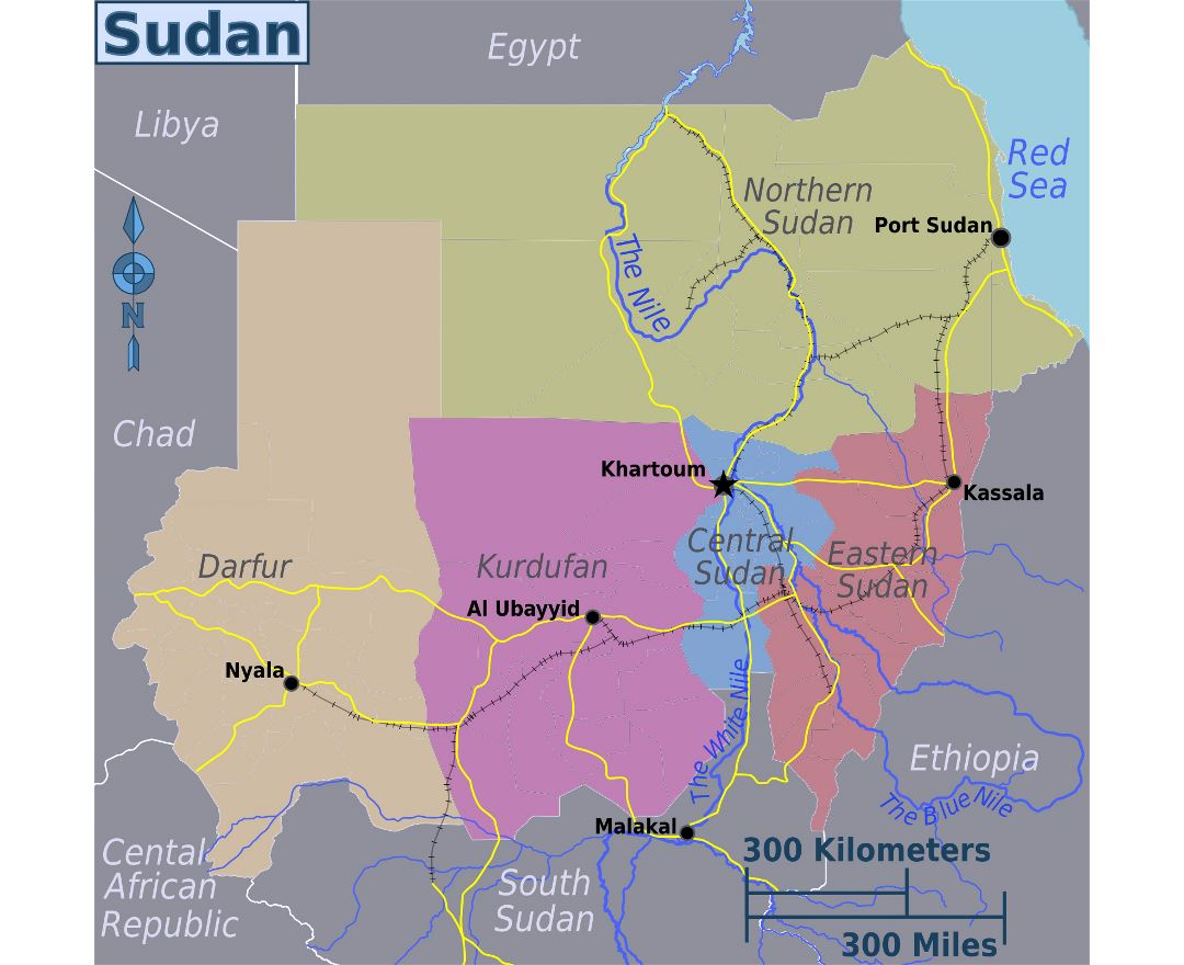 Maps Of Sudan Collection Of Maps Of Sudan Africa Mapsland