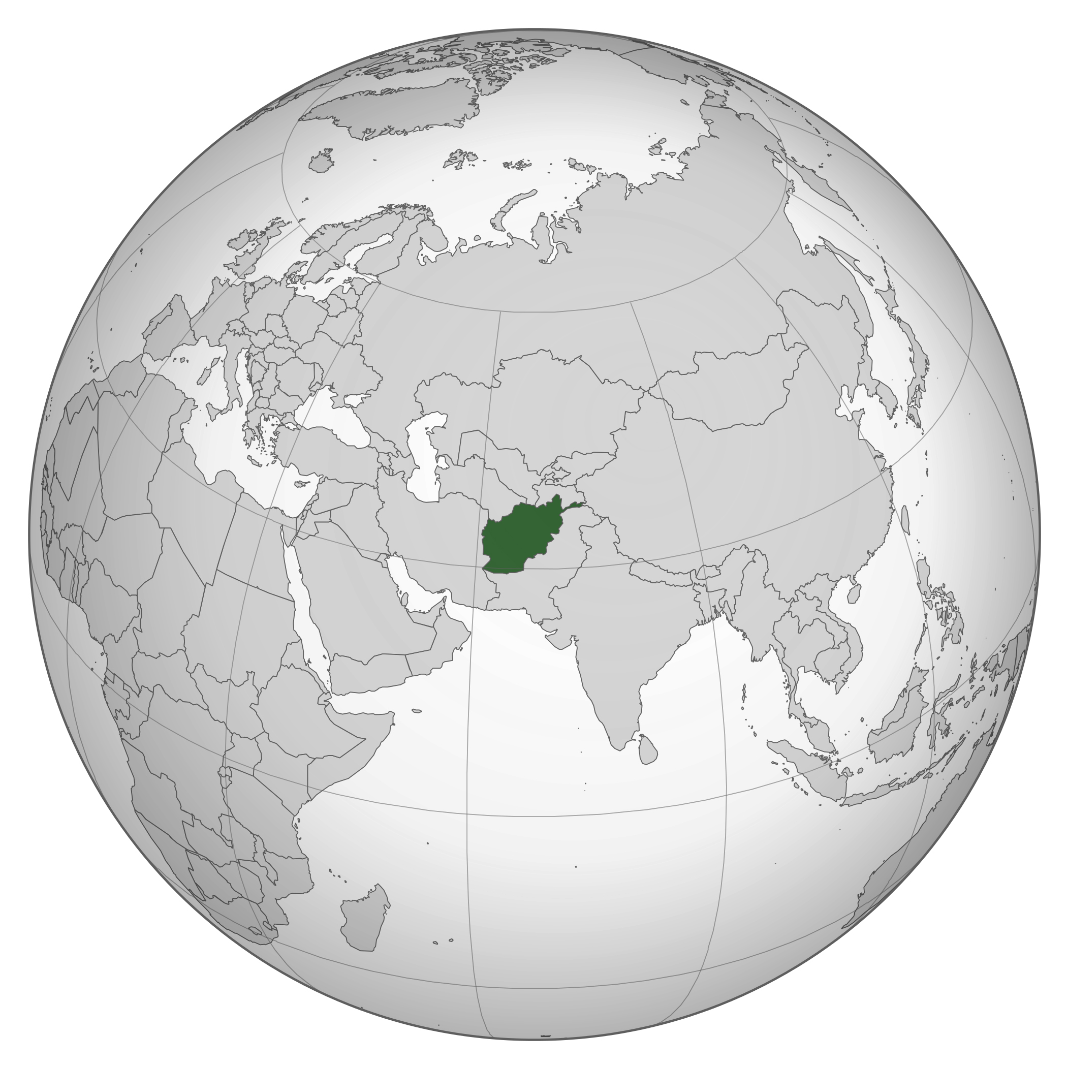Large Location Map Of Afghanistan In Asia Afghanistan Asia Mapsland Maps Of The World