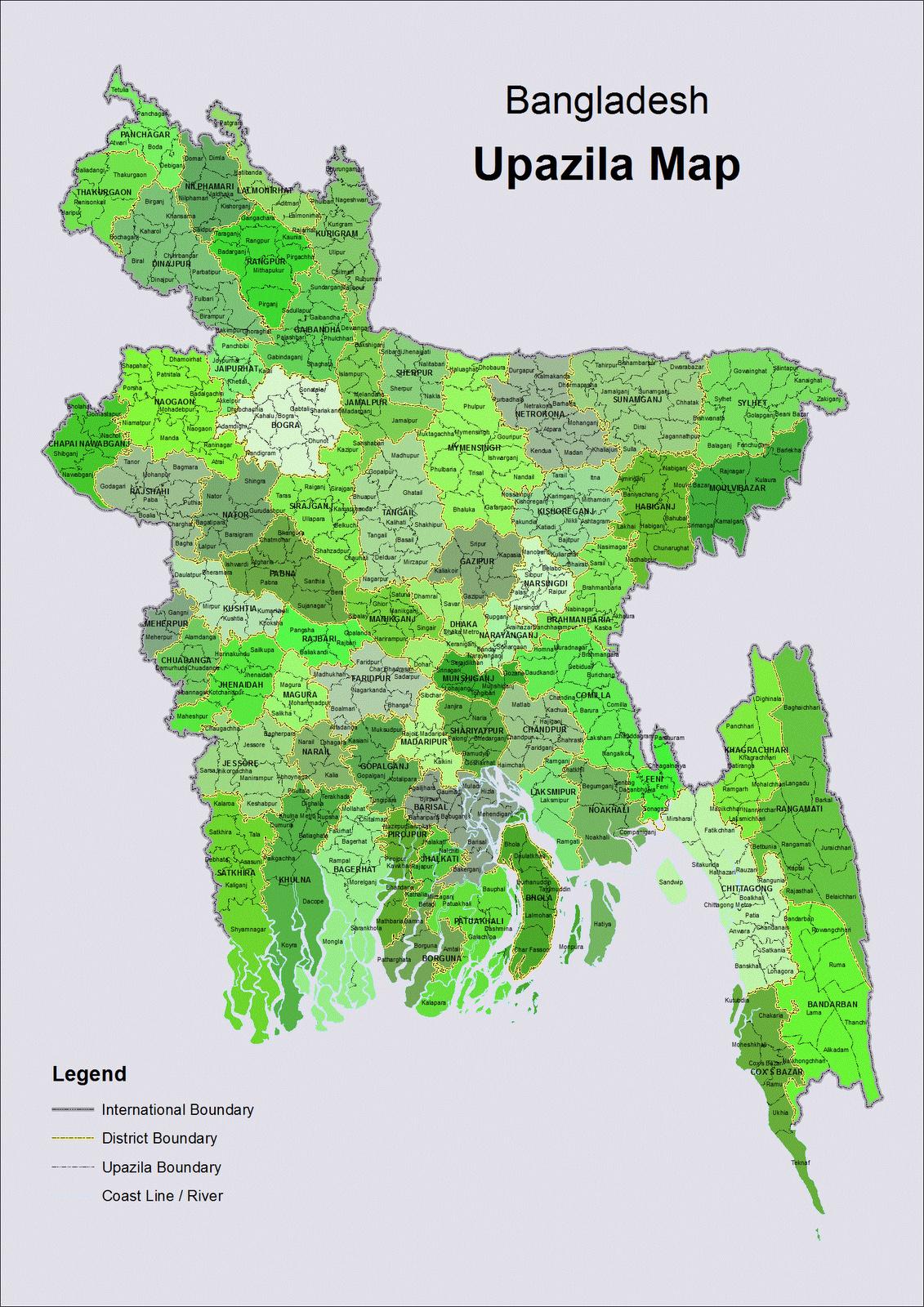 Administrative map of bangladesh bangladesh asia mapsland administrative map of bangladesh gumiabroncs Gallery
