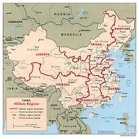Large detailed physiography map of China - 2011   China ...