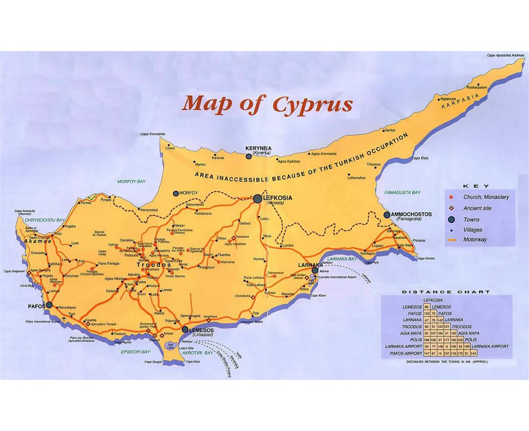 Maps of cyprus detailed map of cyprus in english tourist map detailed guide map of cyprus sciox Gallery