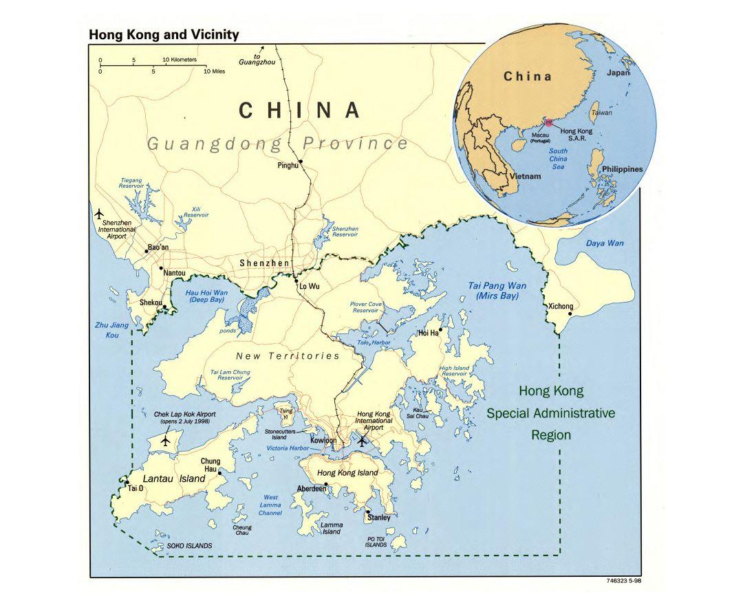 Map Of Asia Hong Kong.Maps Of Hong Kong Collection Of Maps Of Hong Kong Asia