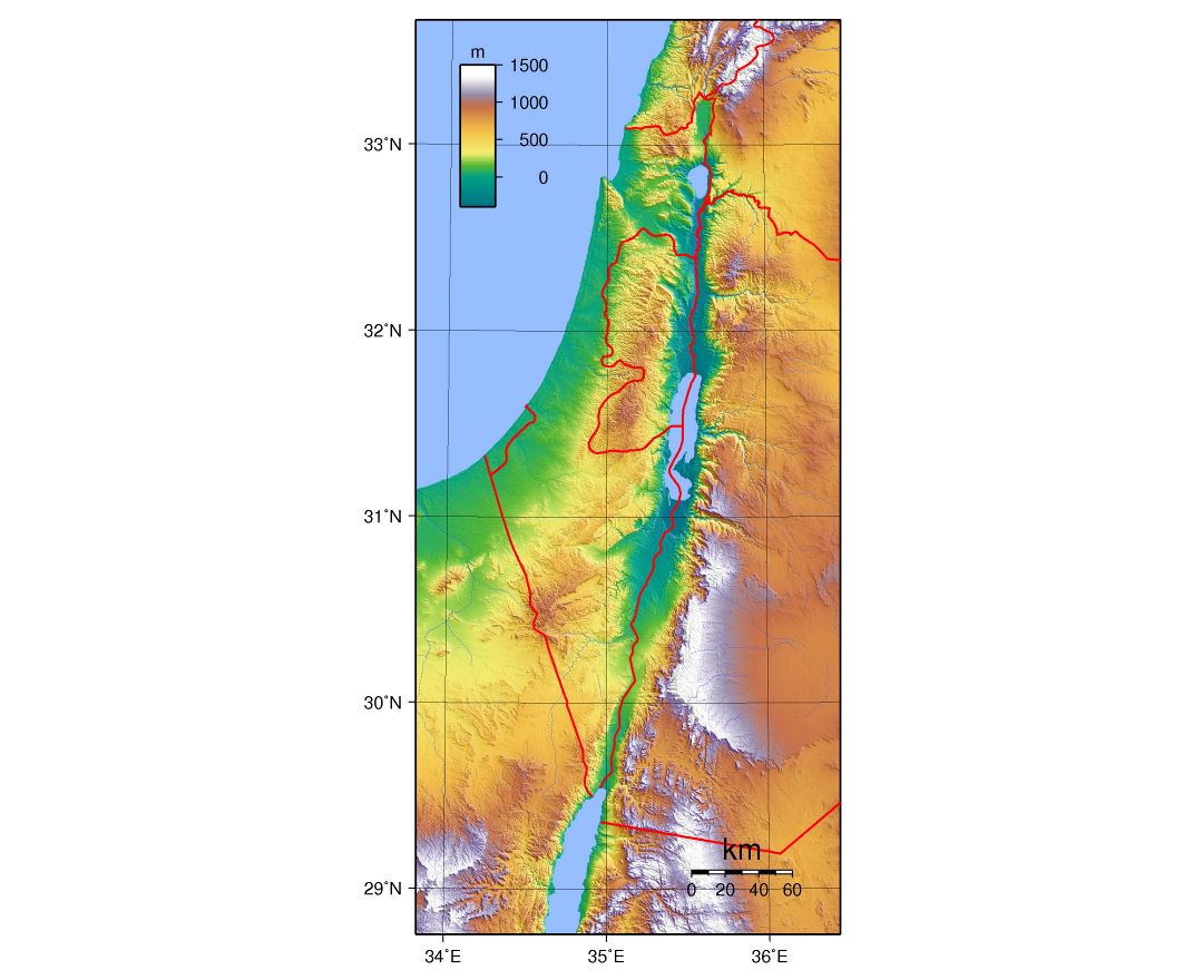 Maps Of Israel Collection Of Maps Of Israel Asia Mapsland