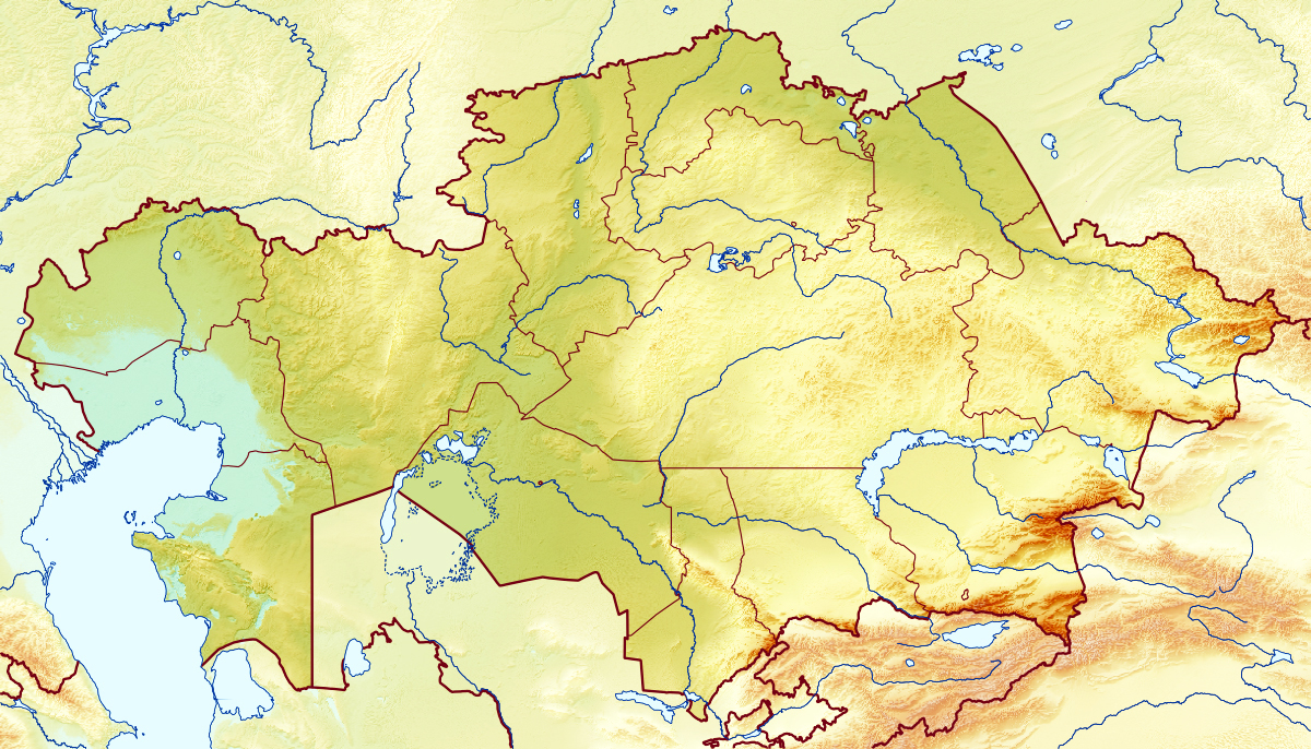 Large relief map of kazakhstan kazakhstan asia mapsland maps large relief map of kazakhstan gumiabroncs Choice Image
