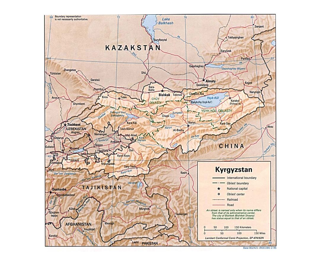 Maps Of Kyrgyzstan Collection Of Maps Of Kyrgyzstan Asia Mapsland Maps Of The World