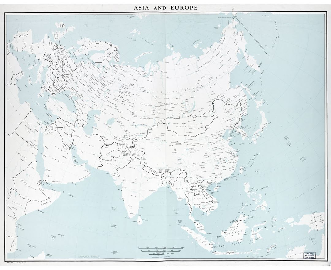 Maps of Asia and Asian countries | Collection of maps of ...