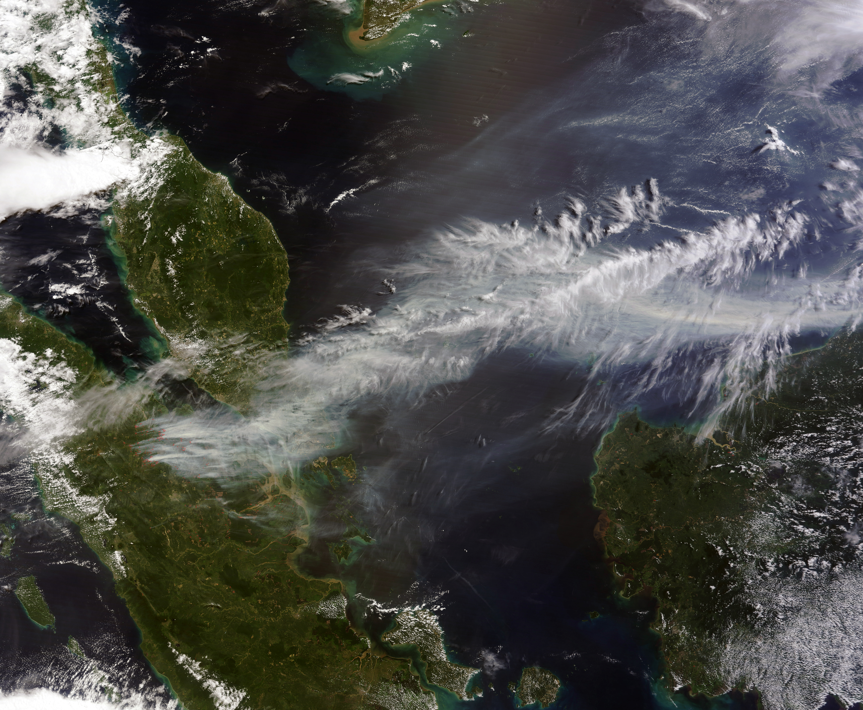 Large Scale Satellite Map Of Malaysia Malaysia Asia Mapsland - Asia satellite map