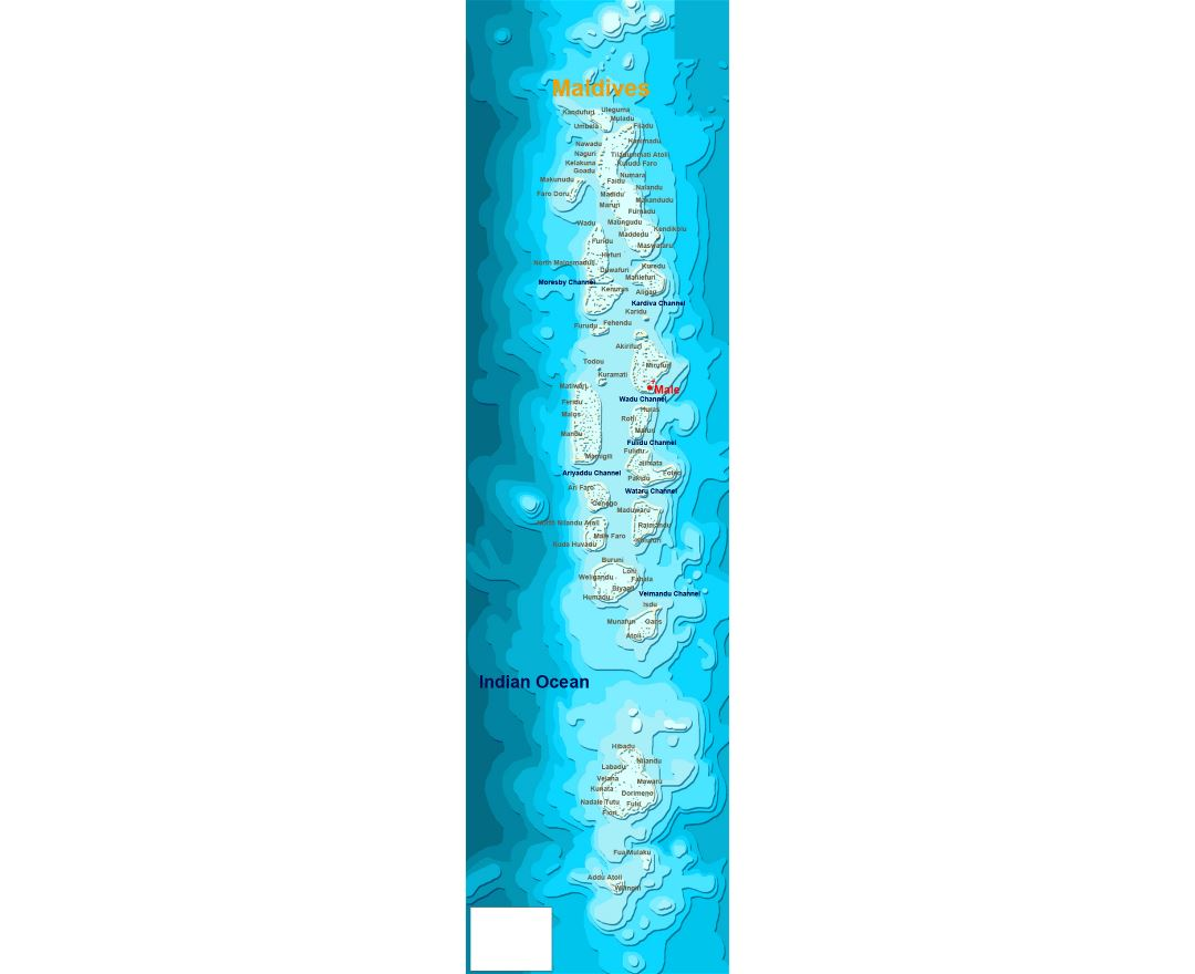 Maps of maldives detailed map of maldives in english tourist detailed map of maldives sciox Gallery