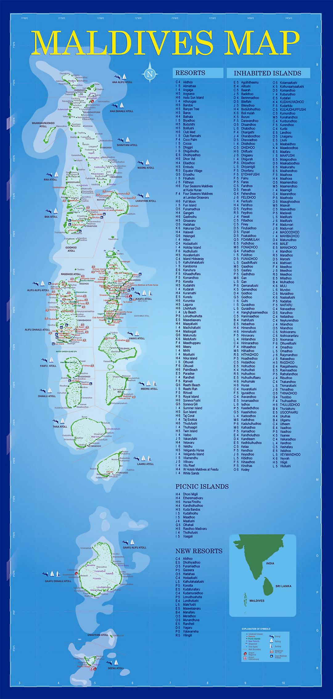 Resorts map of Maldives | Maldives | Asia | Mapsland | Maps ... on maldives map india, ayada maldives on map, seychelles resorts map, reunion resorts map, maldives world map, maldives location on map, honolulu resorts map, male maldives map, maldives map google, maldives airport map, turks and caicos islands resorts map, honduras resorts map, bermuda resorts map, maldives climate map, lankanfushi maldives map, falkland islands resorts map, the maldives map, maldives indian ocean map, tahiti resorts map, palawan resorts map,