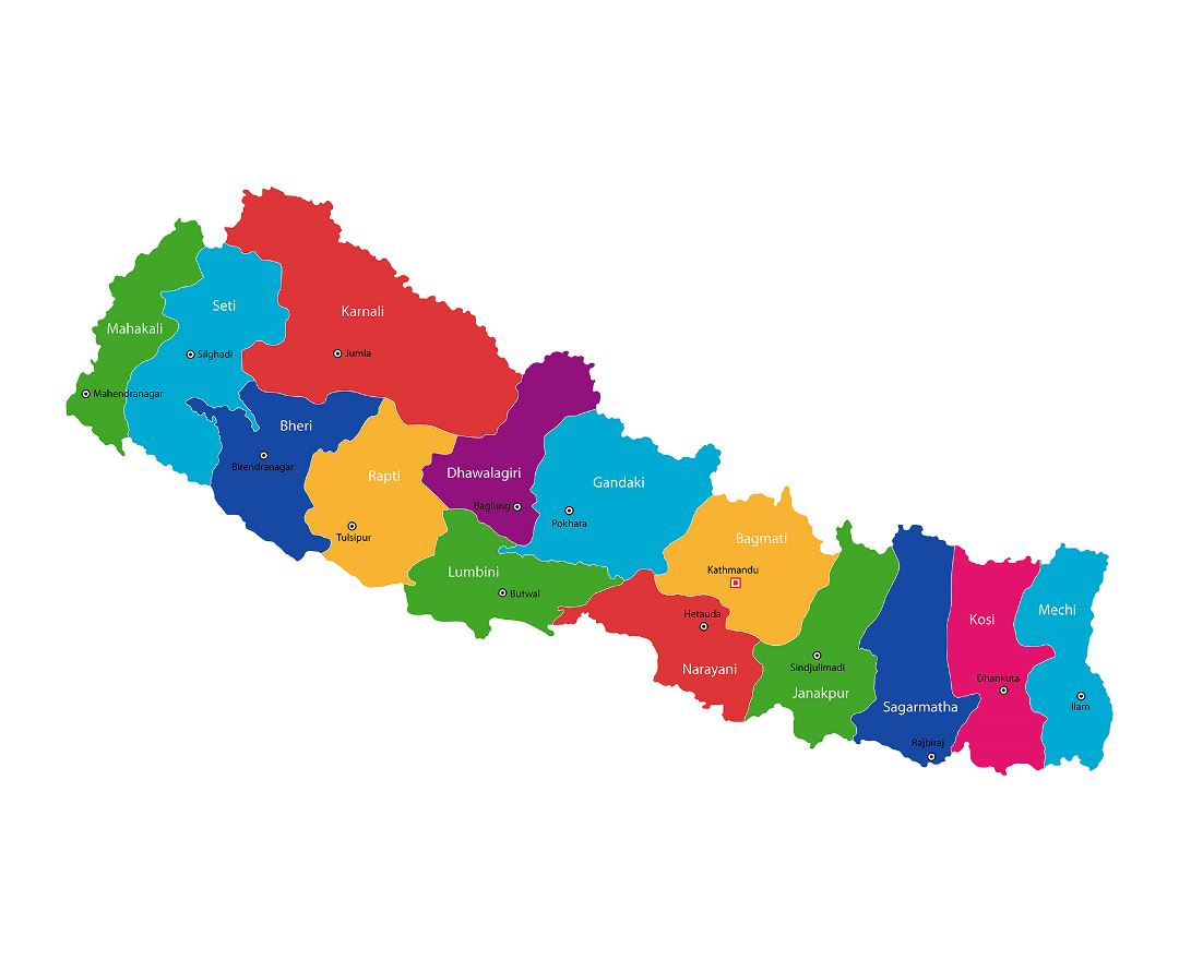 Maps Of Nepal Collection Of Maps Of Nepal Asia Mapsland Maps Of The World