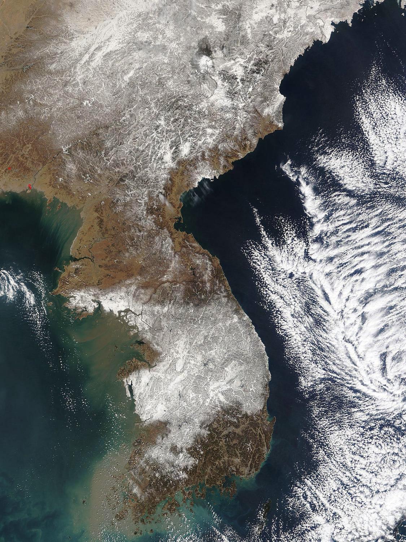 Large satellite map of Korean Peninsula | North Korea | Asia ... on map of saudi arabia satellite, map of sri lanka satellite, map of greenland satellite, map of israel satellite, map of korean peninsula satellite, map of singapore satellite, map of pakistan satellite, map of philippines satellite,