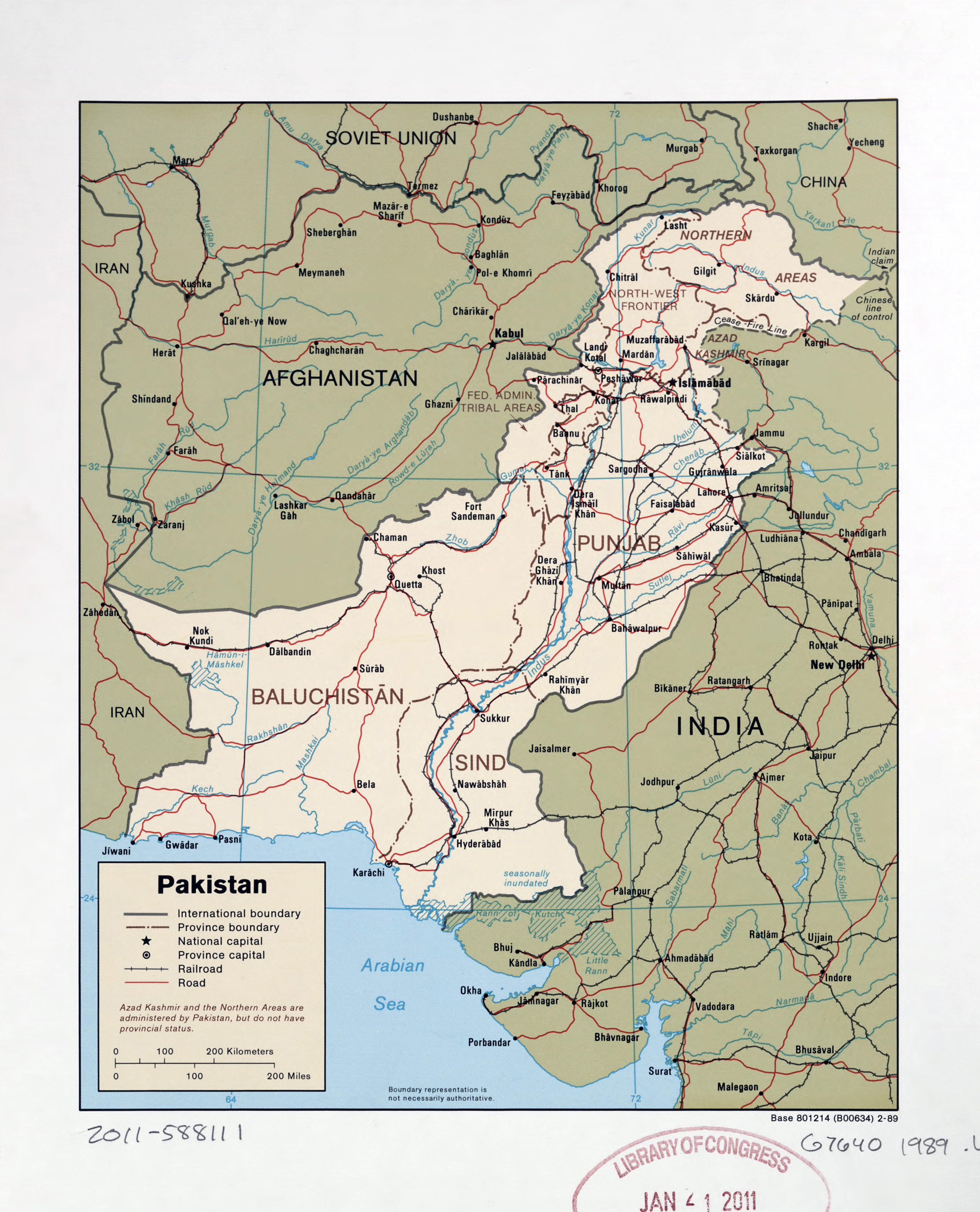 Large Detailed Political And Administrative Map Of Pakistan With - Major cities of pakistan map