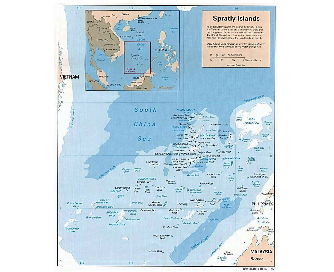 Maps Of Paracel Islands Detailed Map Of Paracel Islands In - China political map in english