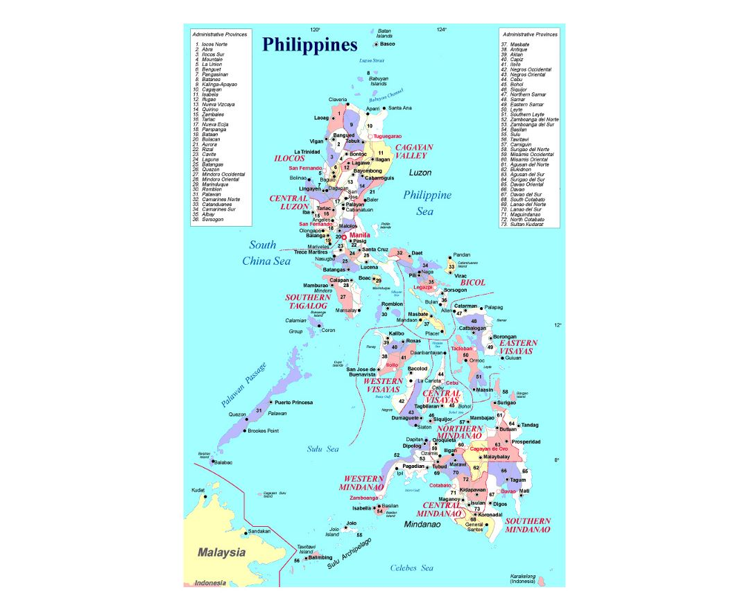 Maps Of Philippines Collection Of Maps Of Philippines Asia