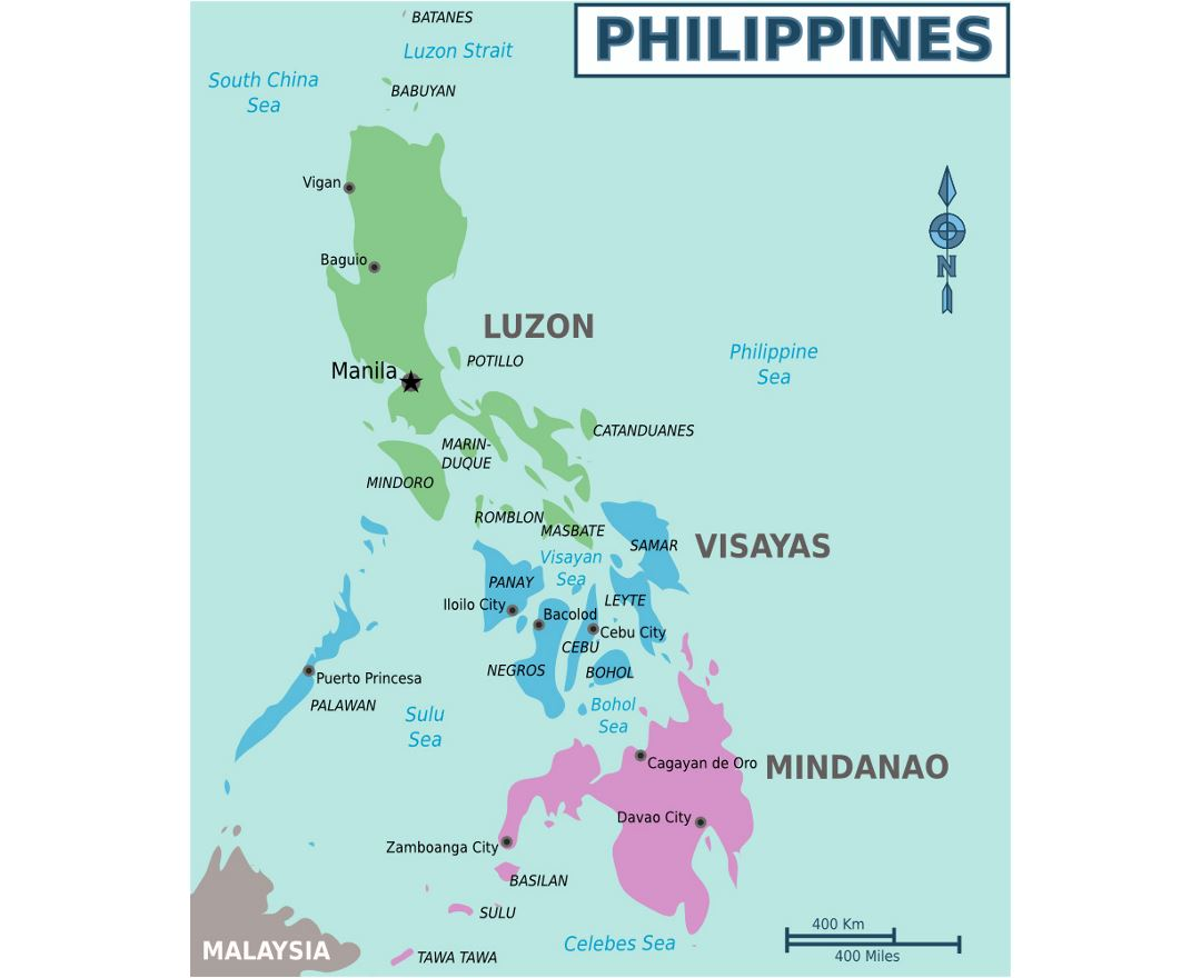 Maps of Philippines | Collection of maps of Philippines | Asia ...
