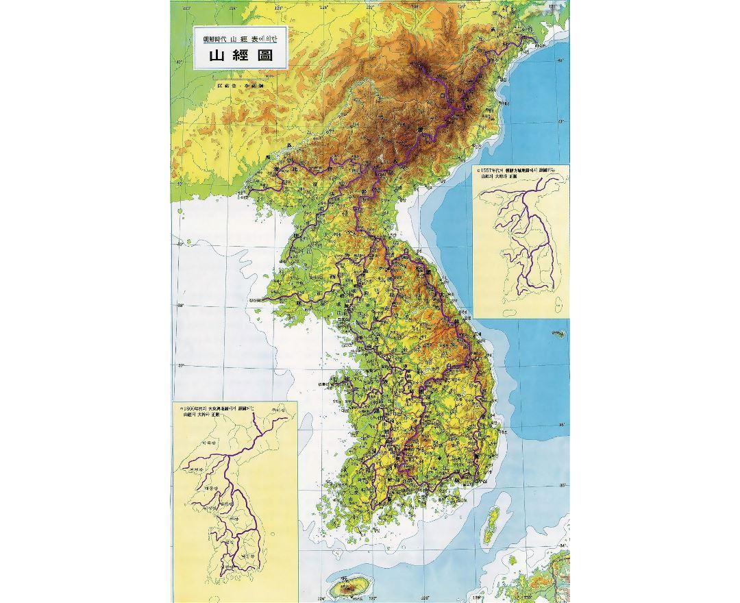 Maps Of South Korea Collection Of Maps Of South Korea Asia