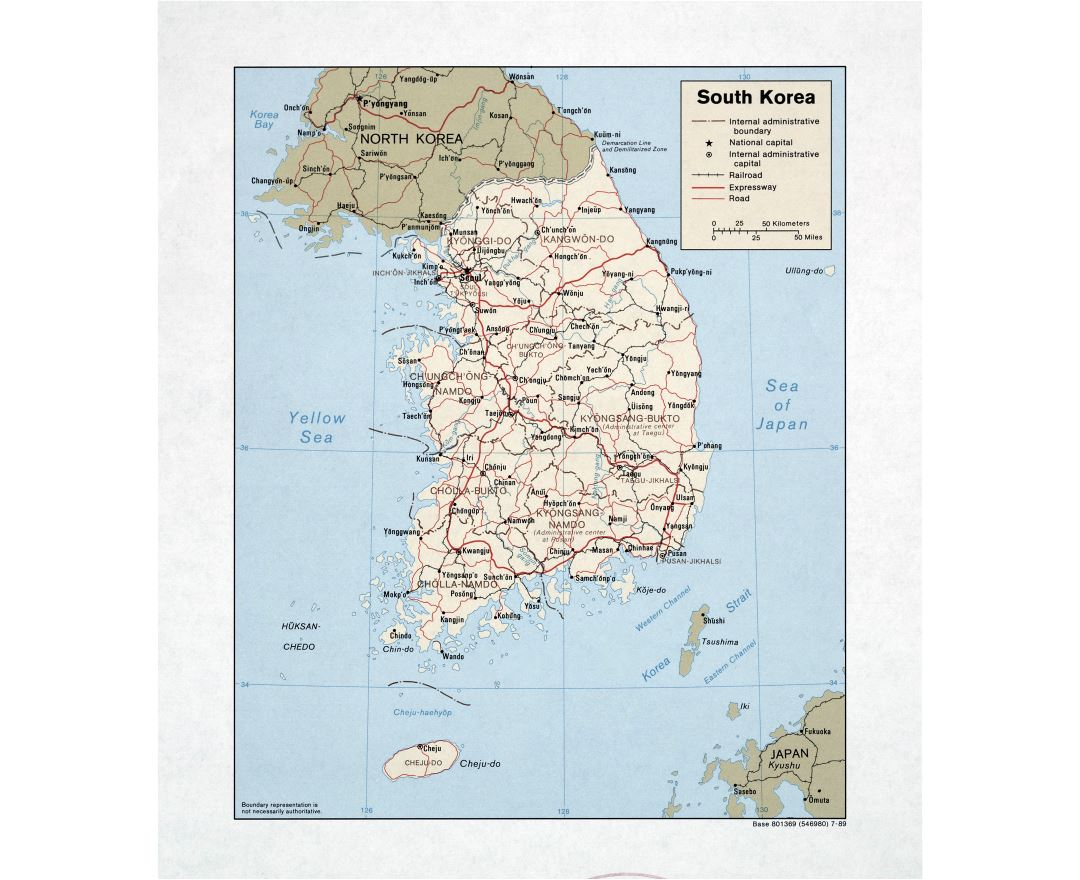 Maps Of South Korea Collection Of Maps Of South Korea Asia