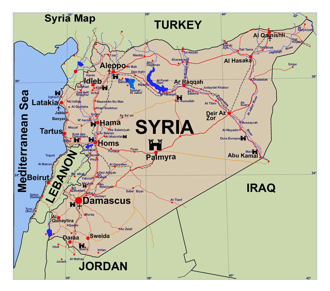 geographical location of syria politics essay Can the middle east be syria, jordan--while middle east even arabs and other people in the middle east accept the term as a geographical point of.