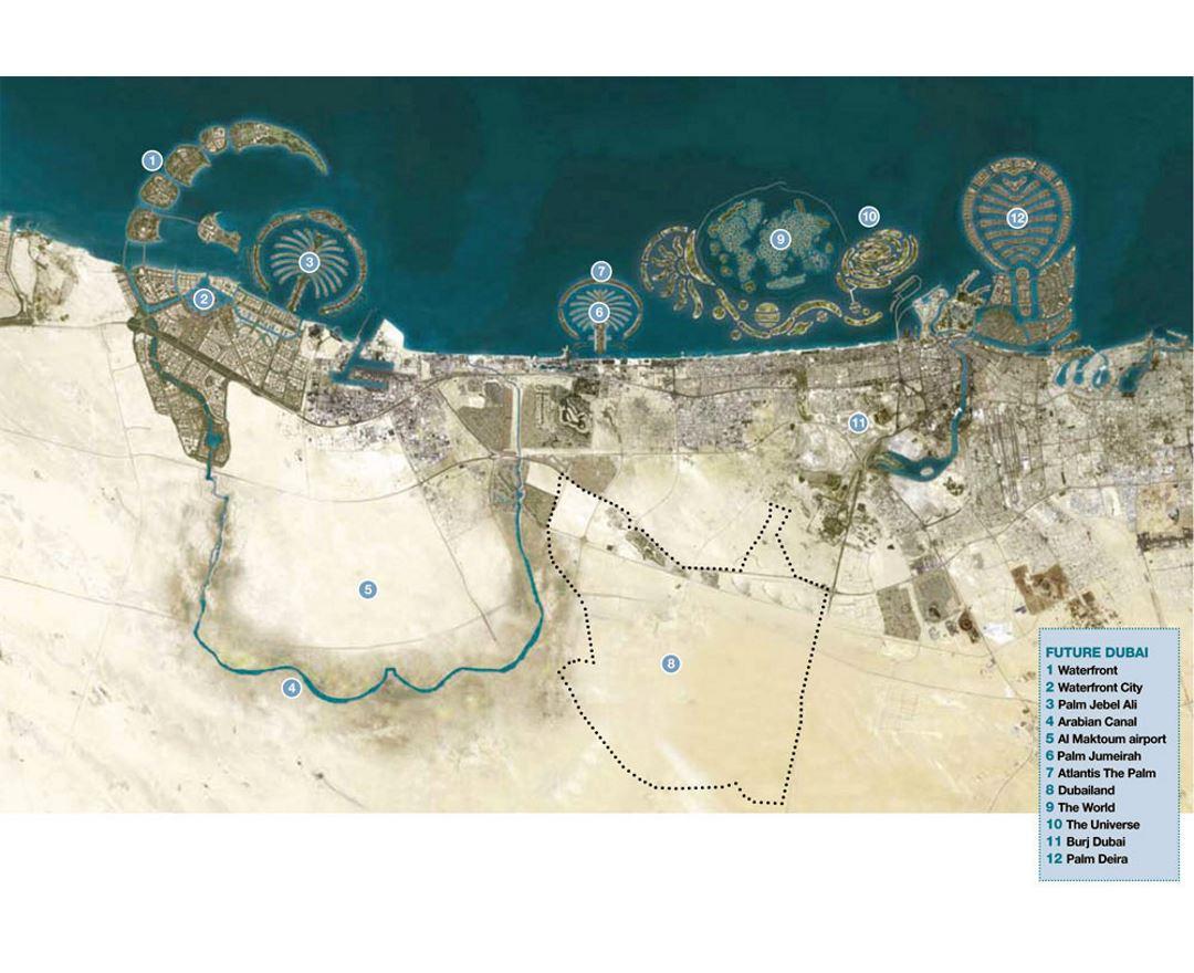 Maps of Dubai | Collection of maps of Dubai city | UAE (United Arab Dubai Maps on