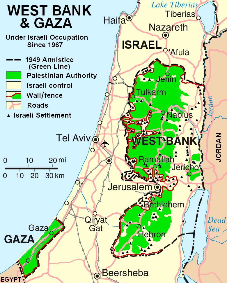 Asshole Gaza strip and map the music