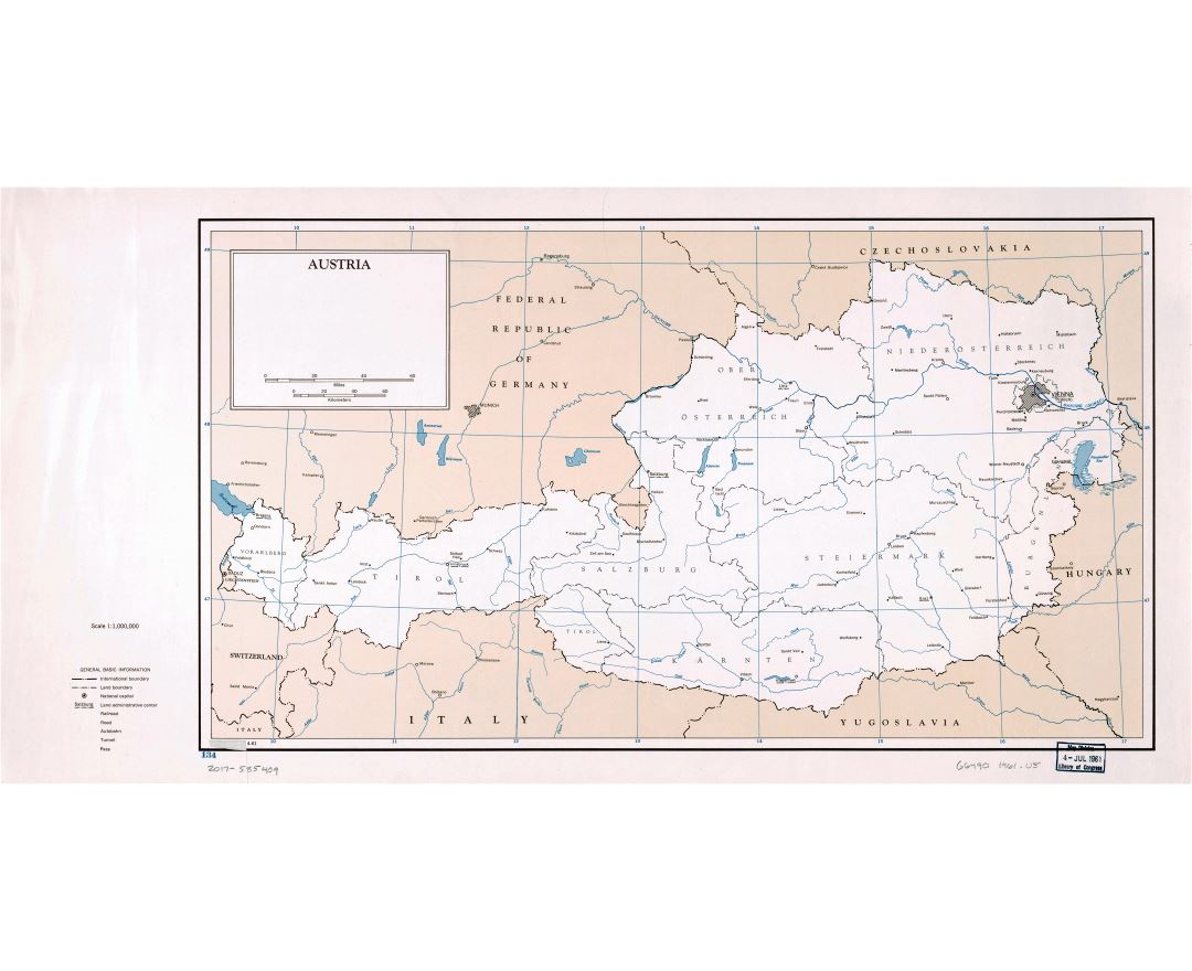 Map Of Germany And Italy With Cities.Maps Of Austria Collection Of Maps Of Austria Europe Mapsland