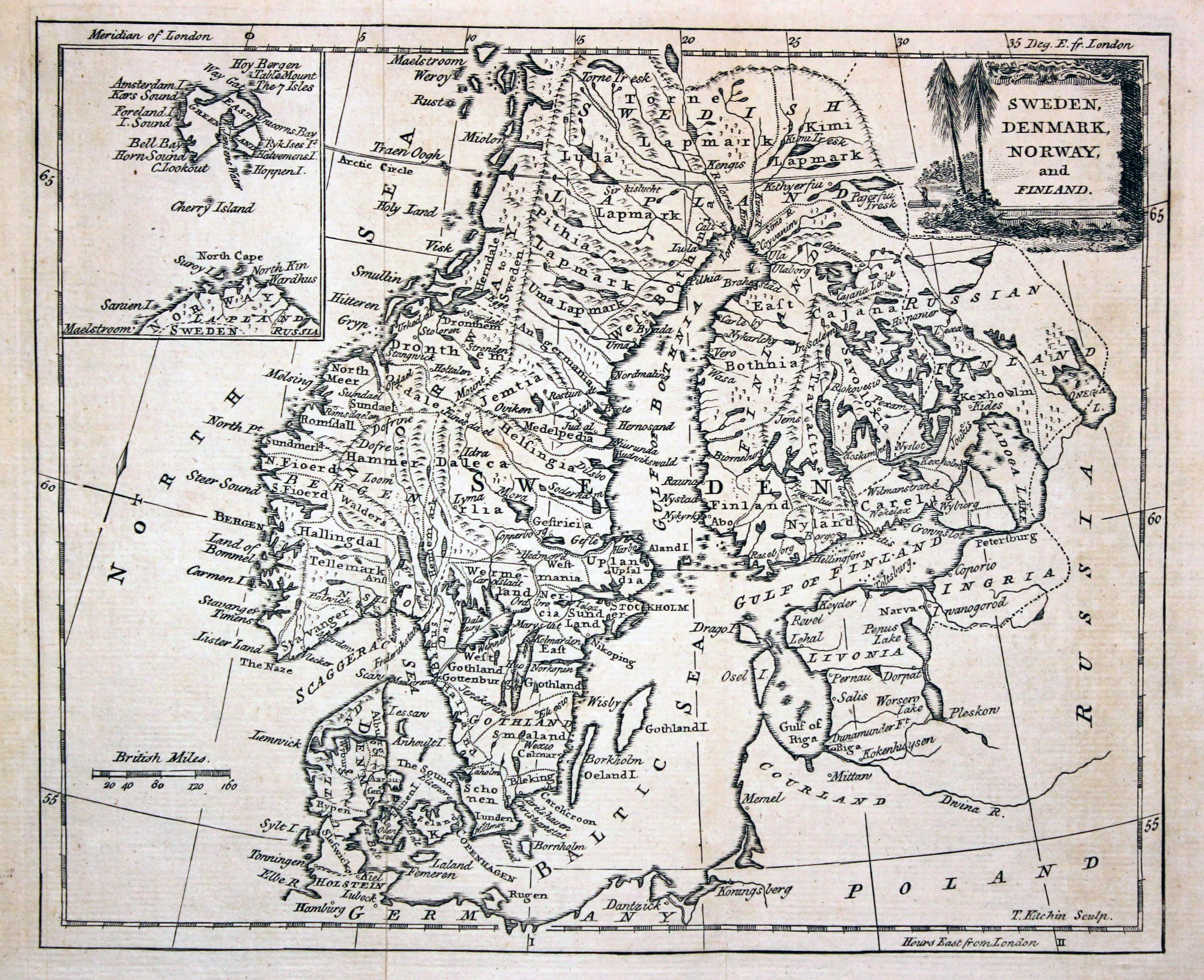 Map Of Europe 1780.Large Detailed Old Map Of Scandinavia 1780 Baltic And