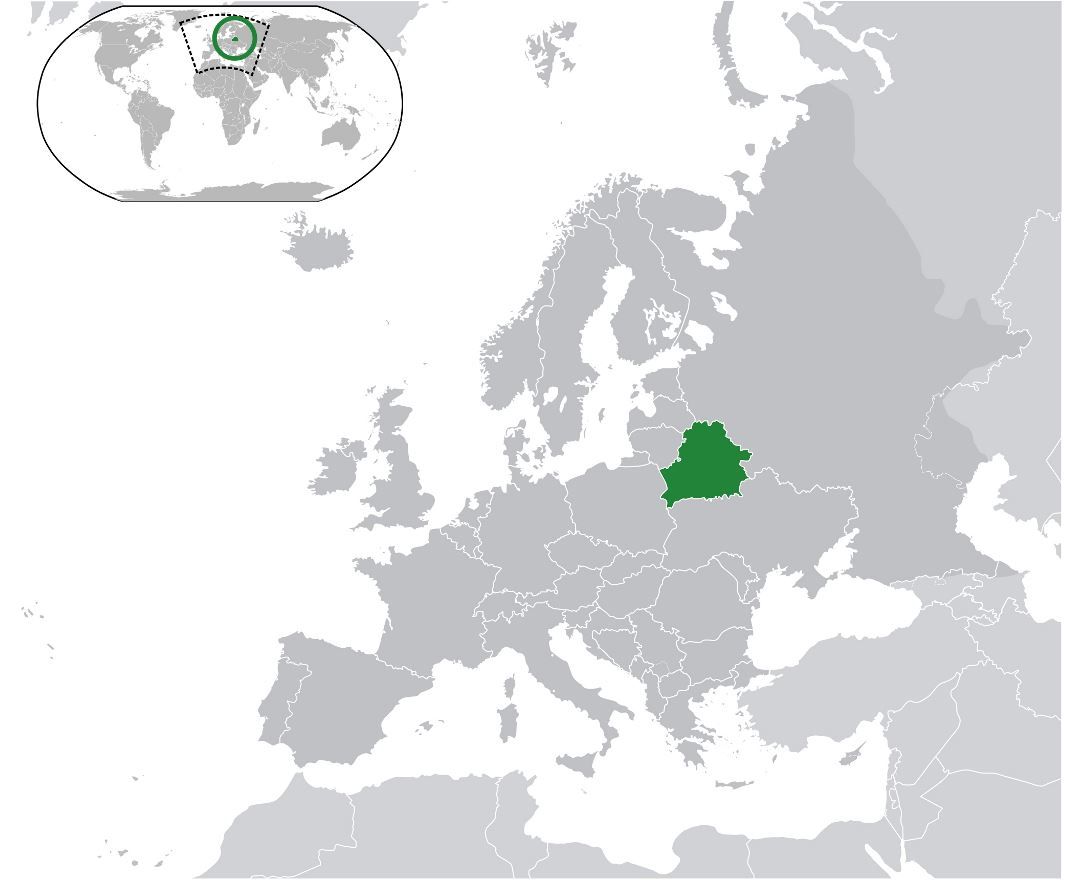 Maps of the belarus detailed map of the belarus in english and large location map of belarus in the world gumiabroncs Images