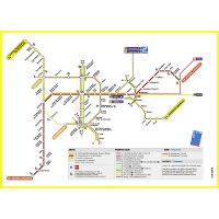 Tourist map of Brussels city center | Brussels | Belgium ...