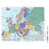Large detailed political map of Europe with capitals and ...