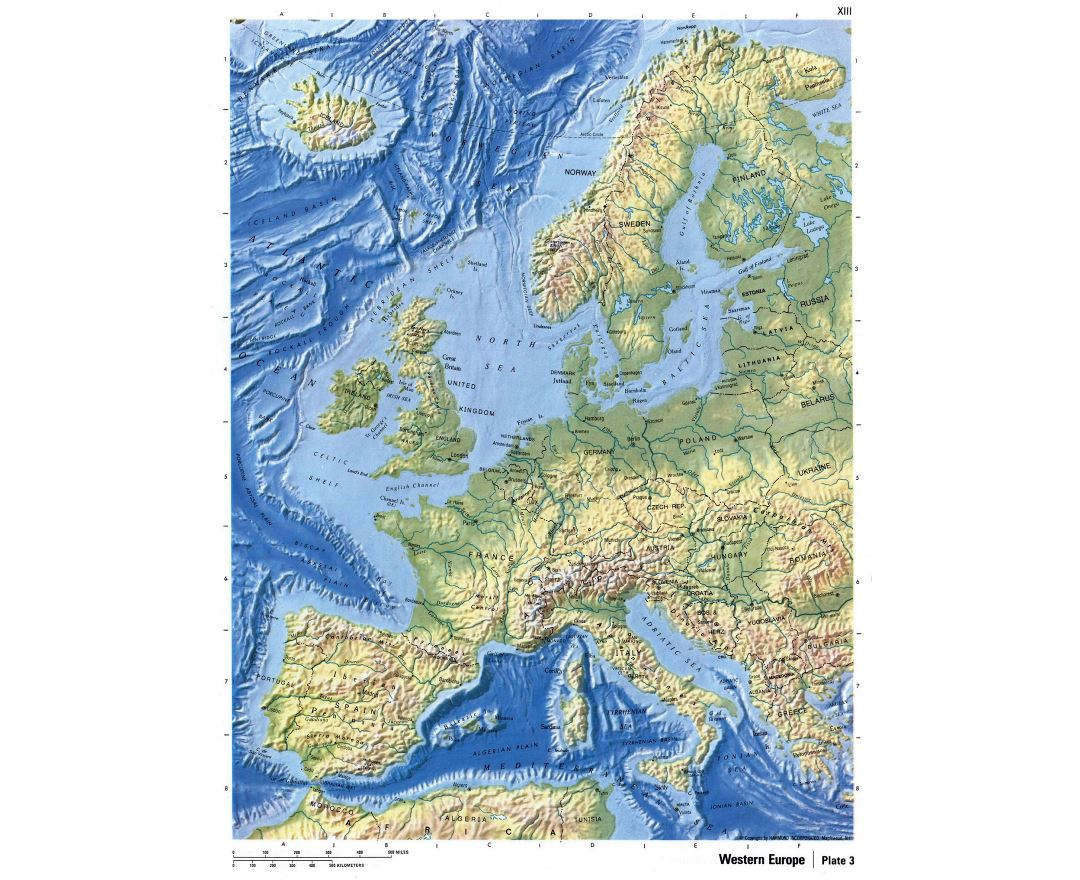Picture of: Maps Of Europe And European Countries Collection Of Maps Of Europe Mapsland Maps Of The World