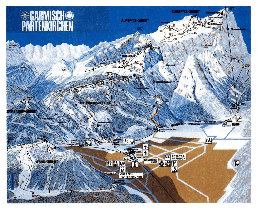Maps of Zugspitze Ski Resort | Collection of maps of ... Garmisch Partenkirchen Ski Map on bansko ski map, madonna di campiglio ski map, tamarack resort ski map, courchevel ski map, germany ski map, garmisch-partenkirchen ski poster, st. moritz ski map, deer valley ski map, cortina d'ampezzo ski map, buck hill ski map, chamonix ski map, klosters ski map, kitzbuhel ski map, grenoble ski map, schladming ski map, zermatt ski map, europe ski map, garmisch-partenkirchen ski jump,