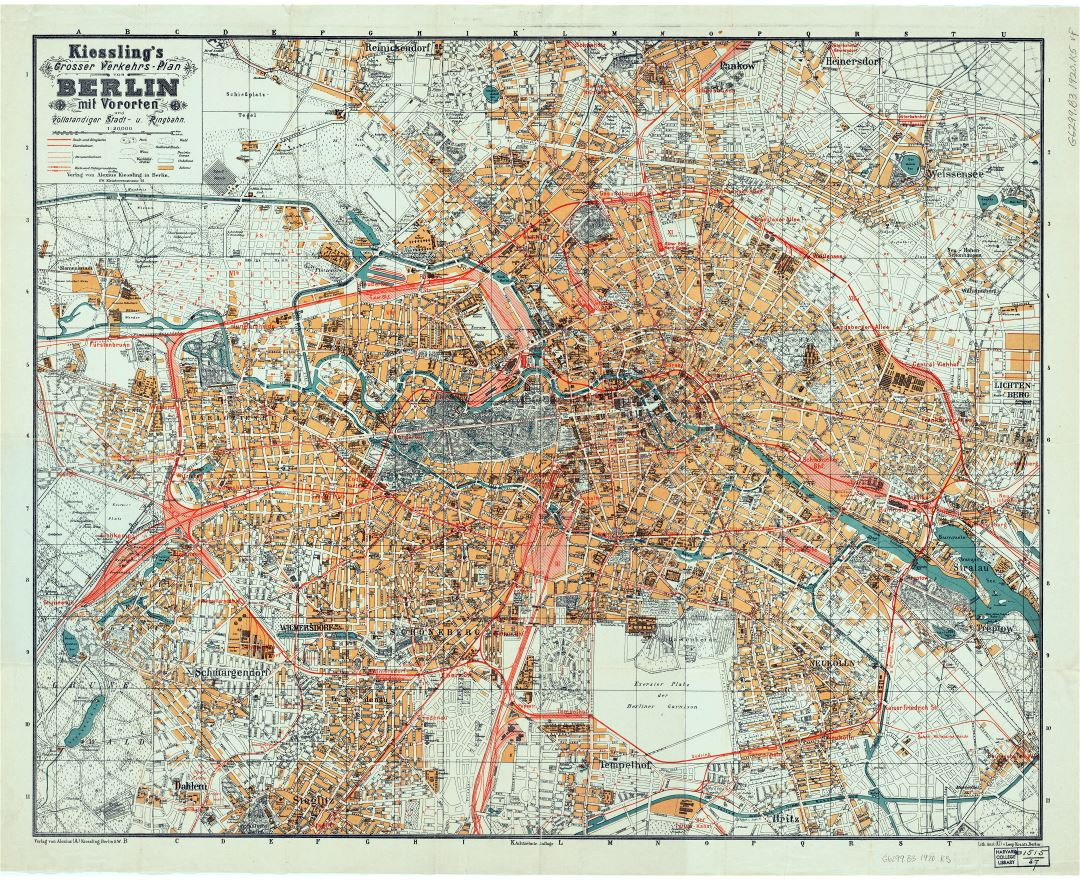 1920s Europe Map.Maps Of Berlin Collection Of Maps Of Berlin City Germany