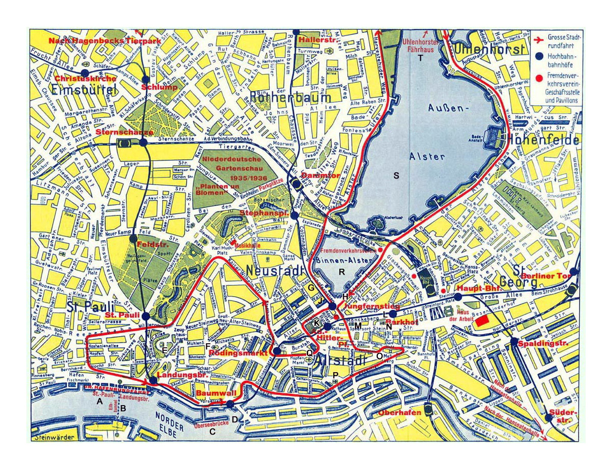 Detailed map of central part of Hamburg city | Hamburg ... on map of europe galicia, map of europe kiev, map of europe naples, map of europe wittenberg, map of europe germany, map of europe ireland, map of europe helsinki, map of europe athens, map of europe verdun, map of europe malta, map of europe belgrade, map of europe suez canal, map of europe heidelberg, map of europe alsace, map of europe reykjavik, map of europe york, map of europe silesia, map of europe luxembourg, map of europe zagreb, map of europe genoa,