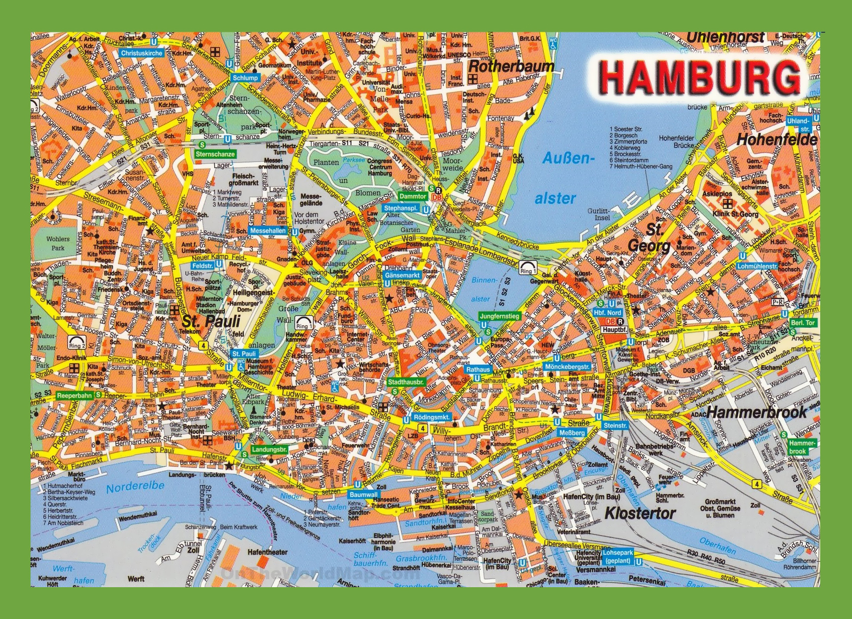 Tourist Map Of Germany.Germany Tourist Attractions Map Tourism Company And Tourism