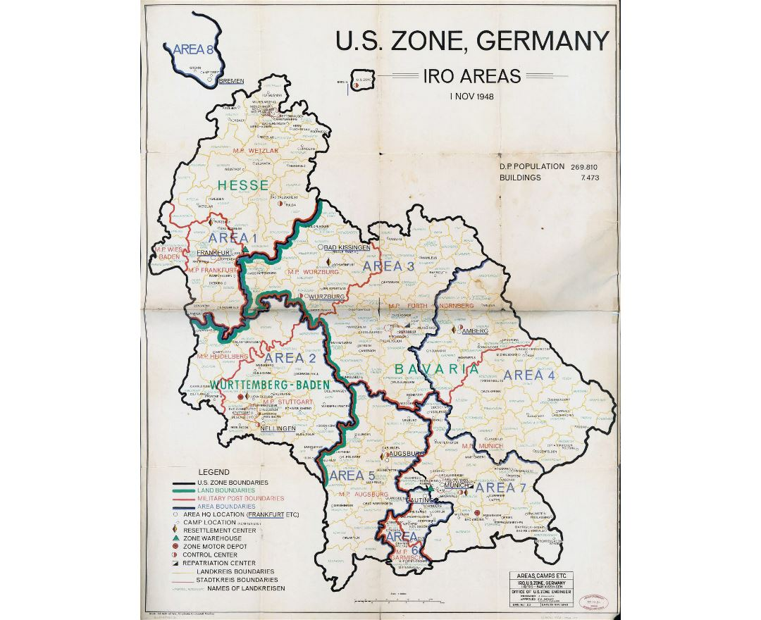 Maps Of Germany Detailed Map Of Germany In English Tourist Map - Germany map zones