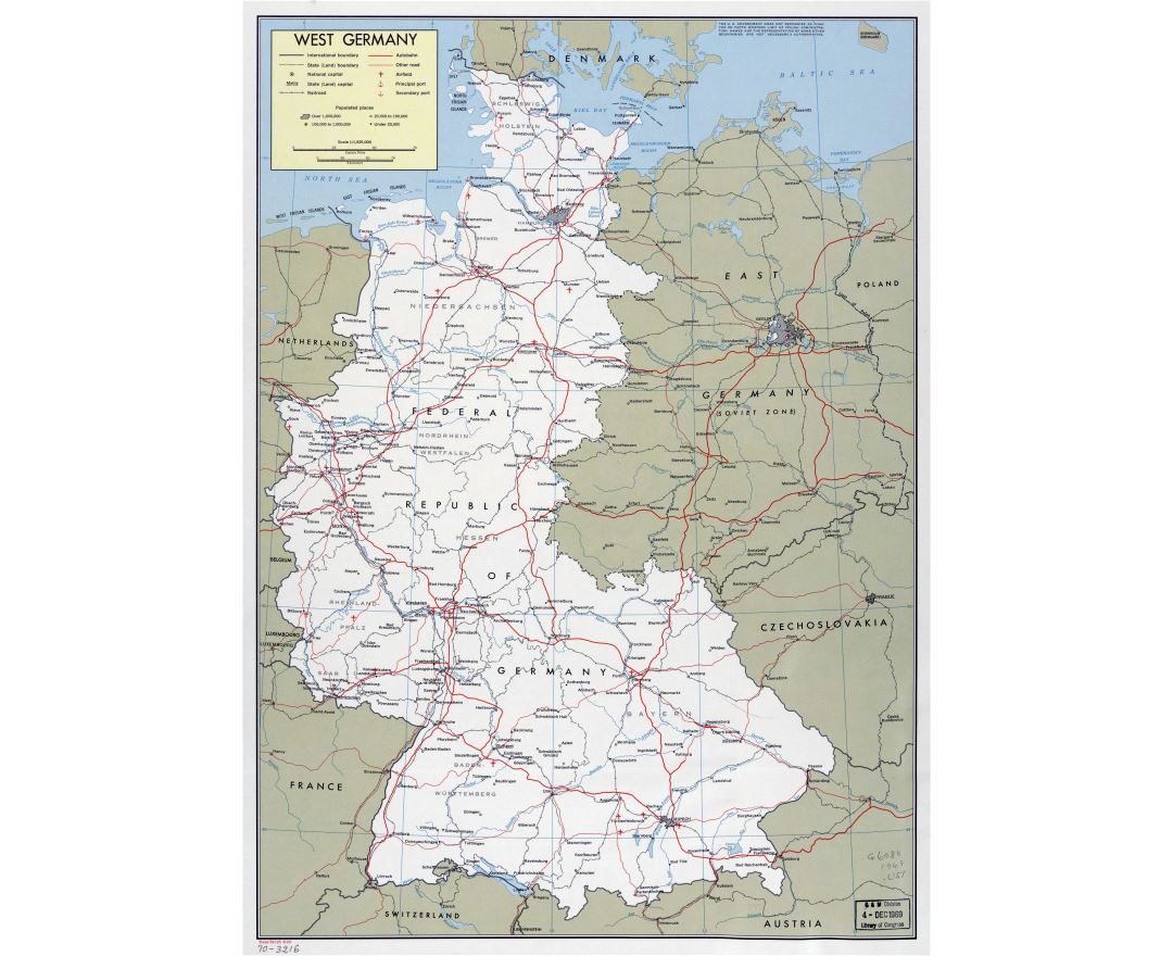 Maps Of Germany Detailed Map Of Germany In English Tourist Map - Germany map with major cities