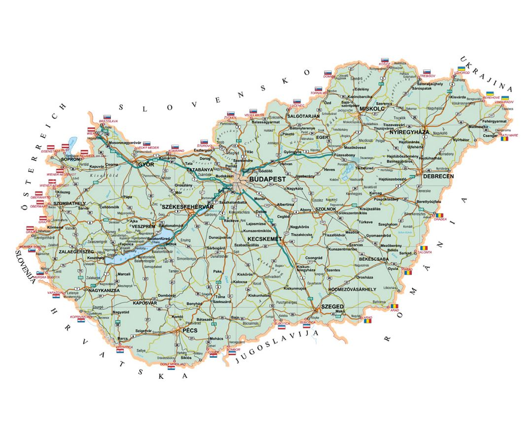 Picture of: Maps Of Hungary Collection Of Maps Of Hungary Europe Mapsland Maps Of The World